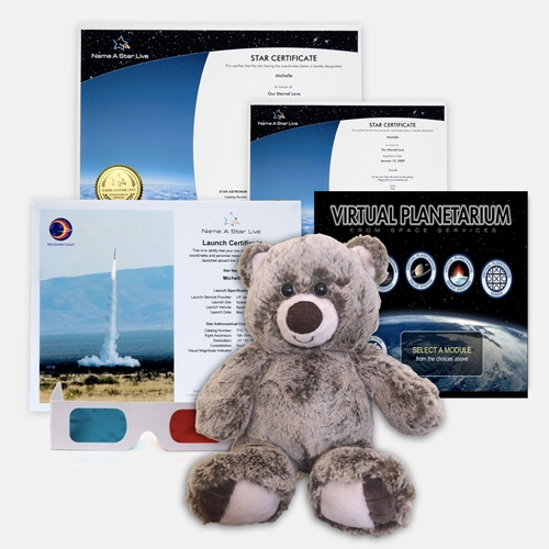 Star Bear Gift Set with Virtual Planetarium