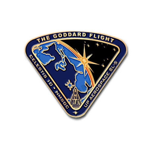 Goddard Flight Mission Pin