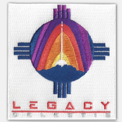 Legacy Flight Mission Patch