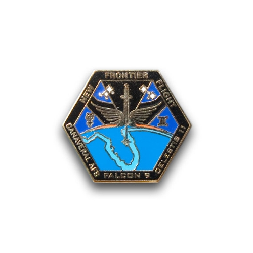 New Frontier Flight Mission Pin