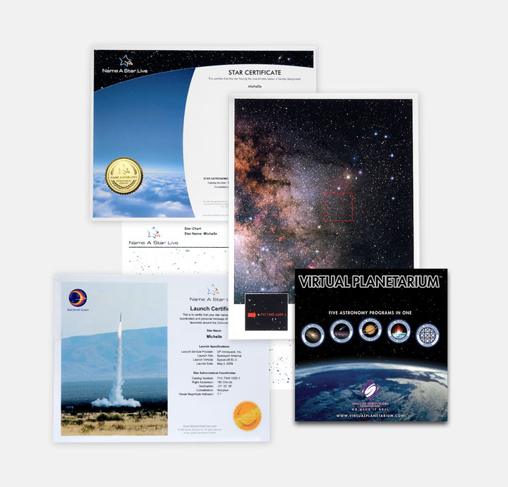 Instant Gift Set Premium with Virtual Planetarium